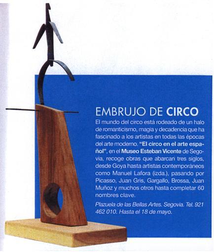 Recorte Revista Elle Manolo Lafora