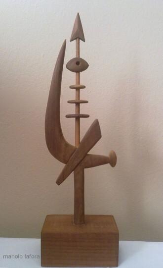 arpon totemico. by m.lafora.