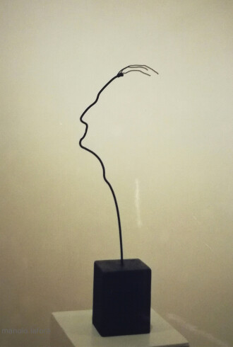 autoretrato. by manolo lafora.