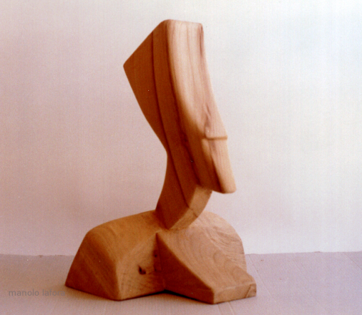 egyptian in wood. by m.lafora.