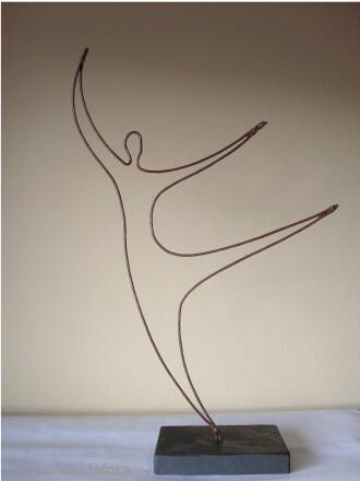 gymnastic dancer. by m.lafora.