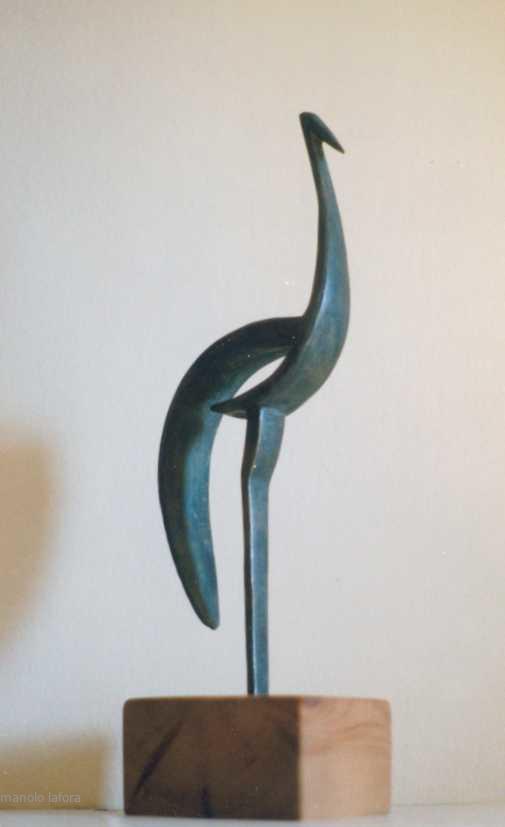 zancuda en metal. by m.lafora.