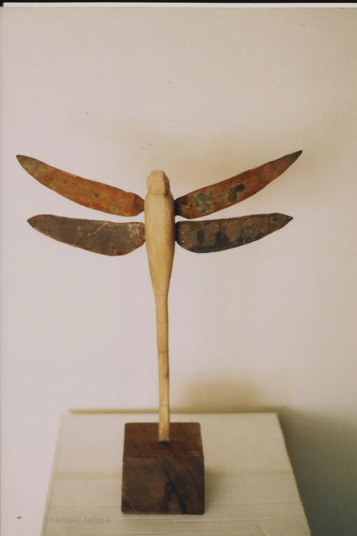 libellula  by manolo lafora.