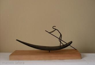 barquero. by manolo lafora.
